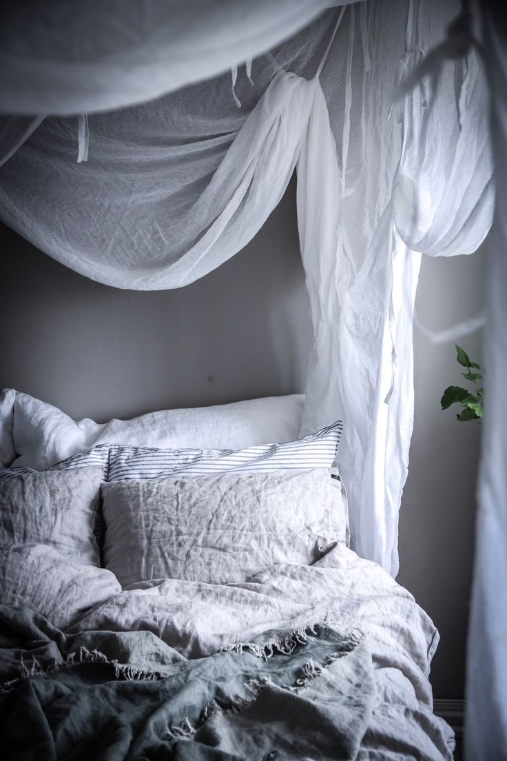 Lovely bedroom in the home of Anna Kubel