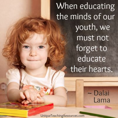 Dalai Lama Quote About Educating the Minds Of Our Youth