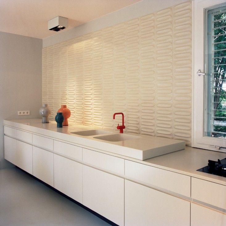 Lower floating cabinets