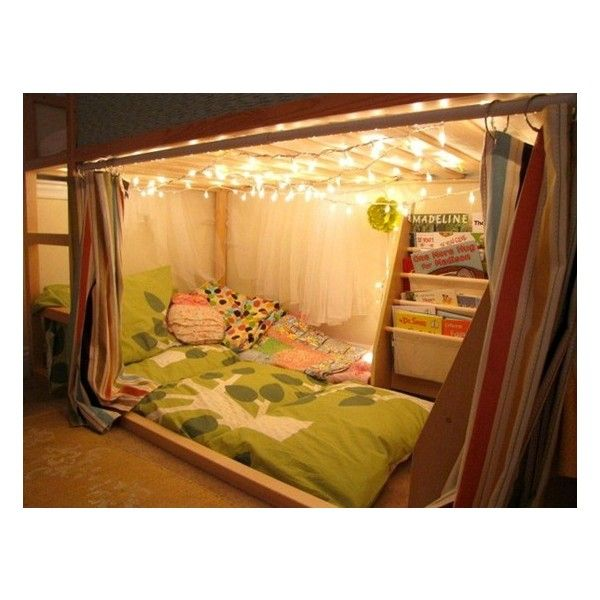 I'm thinking take a loft bed, put rods underneath to hang clothes on both ends of the bed, and add Christmas or rope lights to add lighting so I can see my clothes. Put a beanbag/reading nook in middle. And add a tension rod to the front with curtains so I can shut it all away!