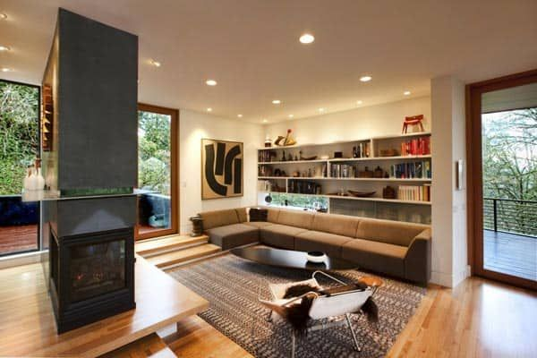 Modern Pad Featured In Twilight Saga Hoke Residence Twilight House Interiors Dream Cullen House Twilight