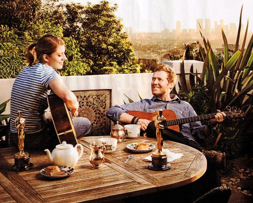 Marketa Irglova & Glen Hansard [The Swell Season] - I would give anything to be sitting on that patio.