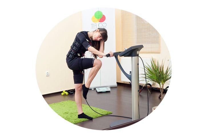 Tehnologia miha bodytec este concepută să stimuleze simultan aproximativ 90% din musculatura scheletică, rezultând o tonifiere generală, foarte rapidă și de durată, fără afectarea sănătății și integrității organismului uman. EMS training este de 18 x mai eficient decât antrenamentele convenționale de fitness.  EMS Training | Fitness | Exercise #GoFitStudioBrasov #emstraining #mihabodytec