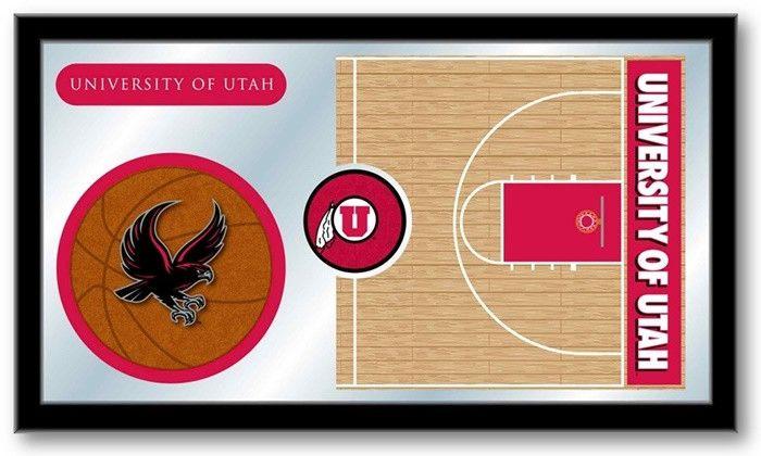 Utah Utes Basketball Team Sports Mirror - SportsFansPlus