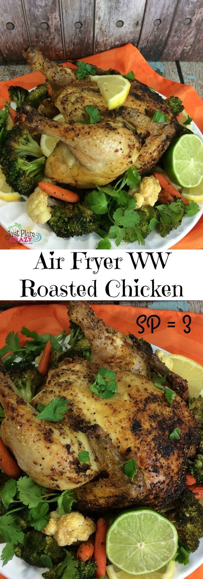 Roasted Chicken In Air Fryer Recipe Air fryer recipes