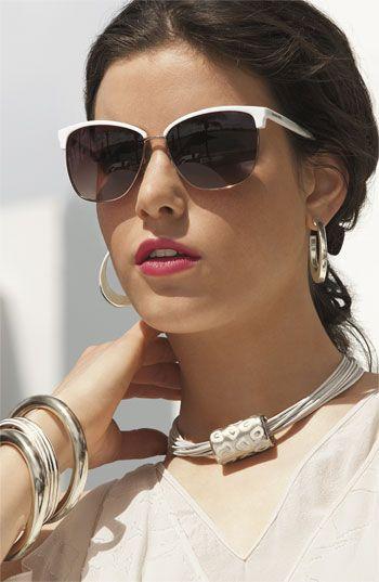 MICHAEL Michael Kors 'Griffin' Retro Sunglasses