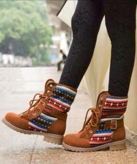 Adorable lace up brown boots fashion