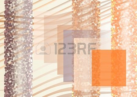 Composition  on bright background from large and small squares  and lines  Dark and bright small squares  Stock Photo - 21454584