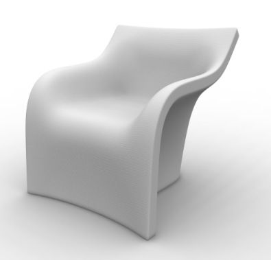 The Mist Chair from Domodinamica is super cool. It really lives up to its name.