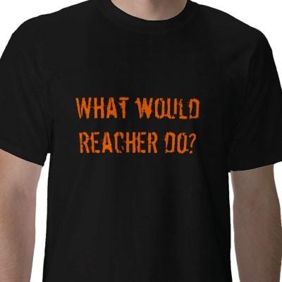 Lee Child's books about Jack Reacher....formulaic but entertaining!