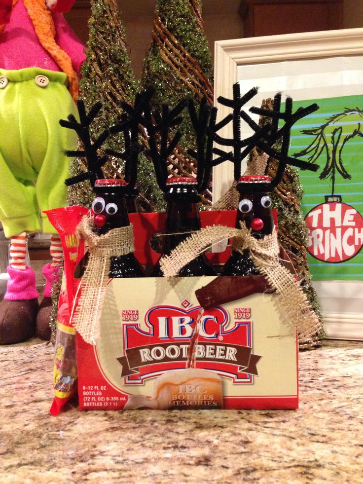 Reinbeer...hostess or secret Santa gift. Cheap and easy!