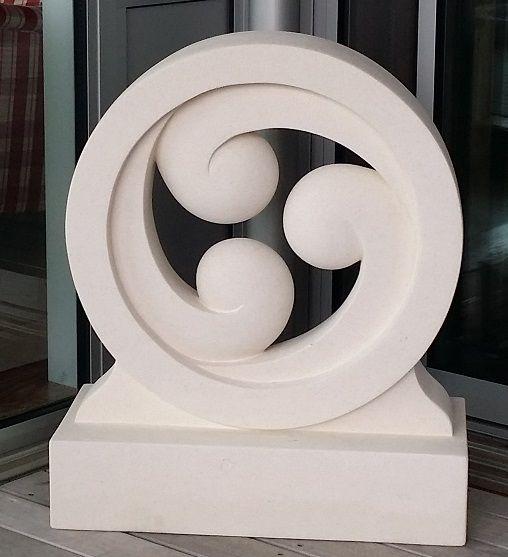 Circle of Life - Three koru within the circle of life.