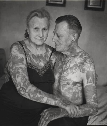 Te has preguntado ¿cómo se verán tus tatuajes en unos años? Aquí algunas fotos para que te des una idea :)