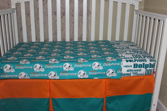 85 Infant Crib And Toddler Bedding Sets, Miami Dolphins Crib Bedding Sets