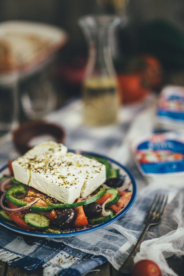 how to make a greek feta cheese salad