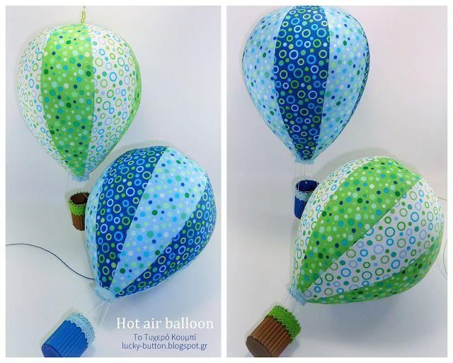Το τυχερό κουμπί: Προσεγγίζοντας τον ουρανό! Αερόστατα, σύννεφα, αεροπλάνα