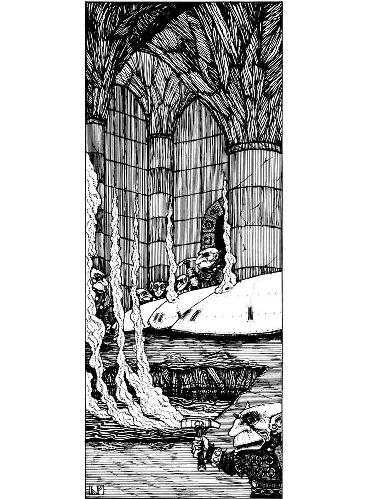 Forge of the Kagu-Svirfnebli (Jes / Jeremy Goodwin, AD&D module UK4: When a…