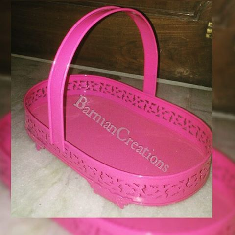 Oval Shaped Basket in Metal · · · · · · · · · ·  #gift #giveaway #vendor #barmancreations #boxes #baskets #cages #trays #jewellery #chocolates #almonds #guests #boxes #giftitems #stock #products #photo #weddingfavors #events #photographer #instagood #like4like #followme #delhi #delhidiaries #newdelhi #wedwise #sodelhi #wearegurgaon #wedtalkindia