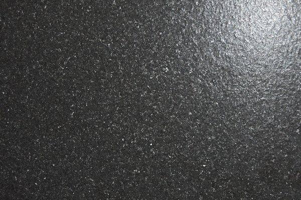 Jet Black Leather Finsh