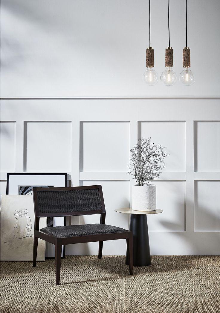 Cork Pendants By Nove Lighting Natural Minimalist Interiors