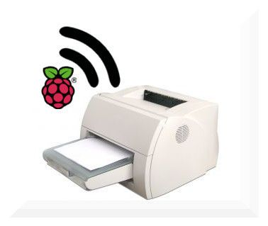 Turn any printer into a wireless printer with a Raspberry Pi. Or just any freaking old machine that could be Linuxed.....