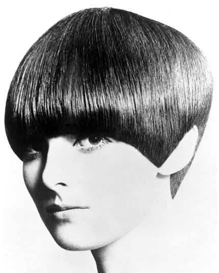 ForGrace  Coddington, Vidal Sassoon created his five-point cut—a geometrically rigorous style that defined the 60s. By Eric Swayne.