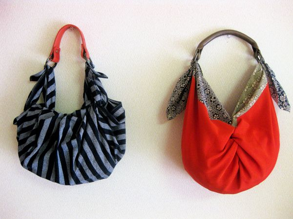 no sew super easy furoshiki bag ! what you need is just square fabric and handle. thats it !