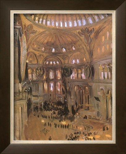 Sketch of Santa Sophia, 1891 Giclee Print by John Singer Sargent at AllPosters.com