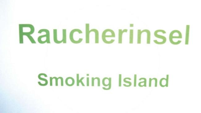 der Vulkan Smoking Island