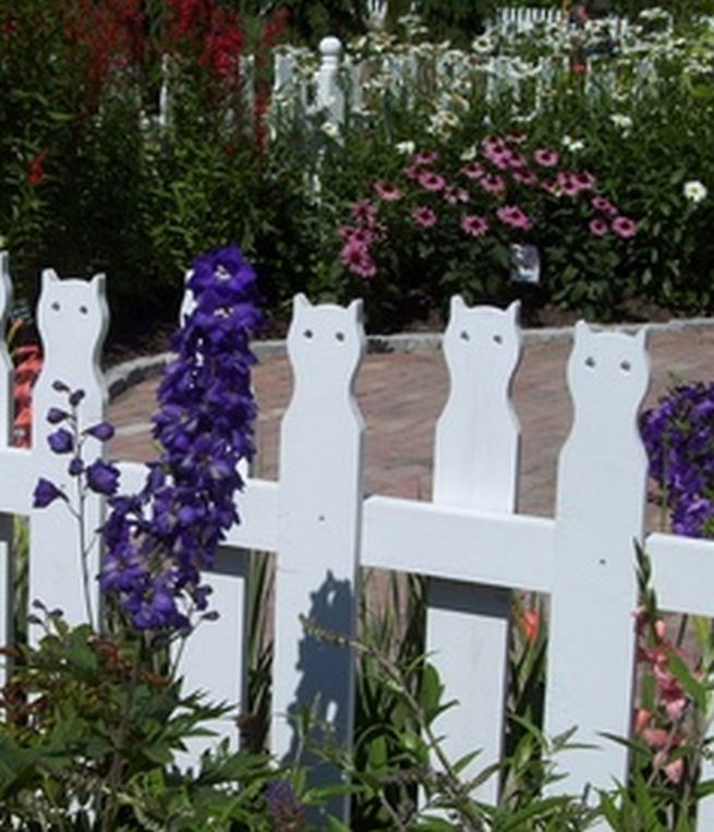 Wonderful Outdoor Gardening Ideas And Inspiration With: The Visual Garden Border Fencing Collection: Garden Border