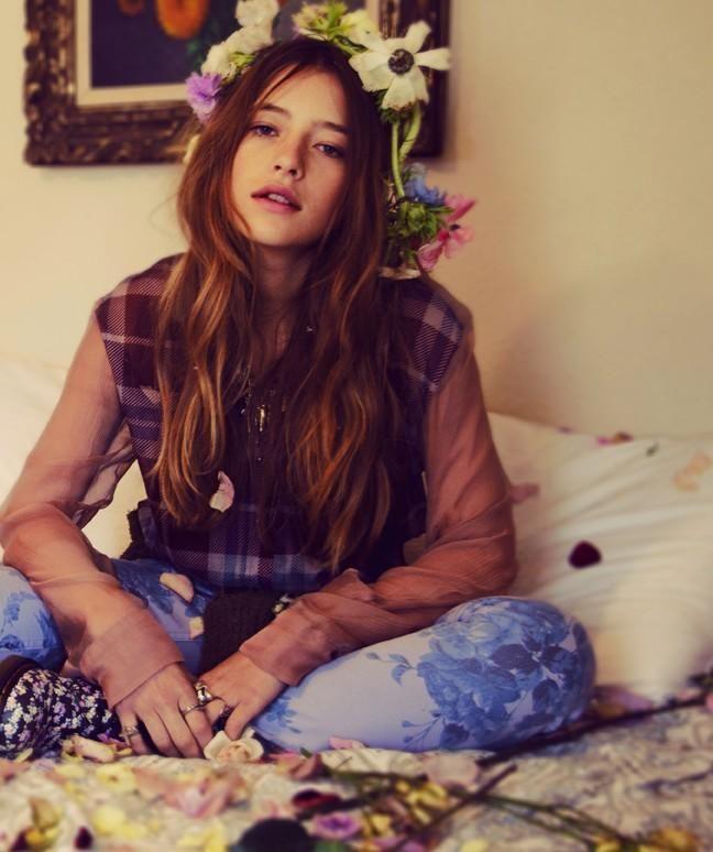 Romantic Grunge with model Teresa Oman (Nylon Magazine)