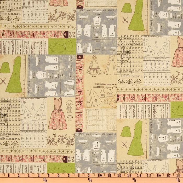 sewing pattern pattern