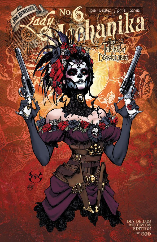 Lady Mechanika Tablet of Destinies 6 Dia de Los Muertos Variant Cover New | eBay