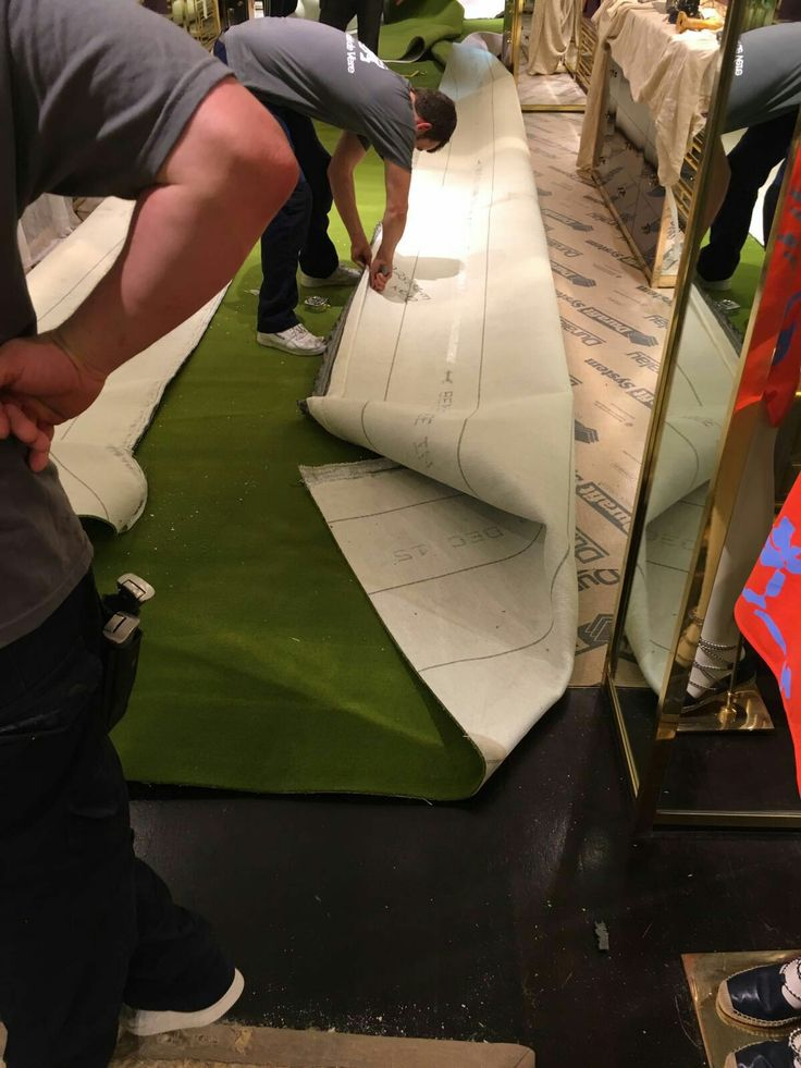 Cutting The Carpet To Size