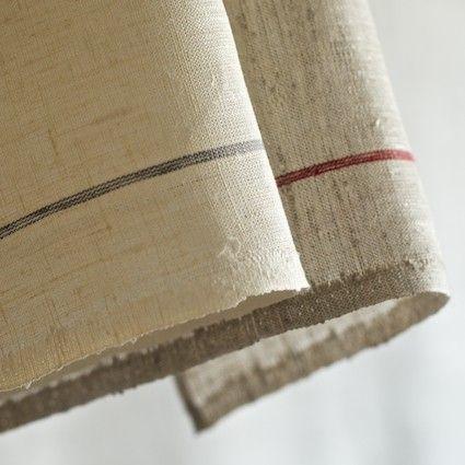 FOG LINEN SELVEDGE KITCHEN TOWEL $18
