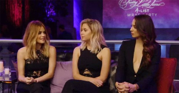 'Pretty Little Liars' After-Show: The 10 Biggest Reveals During 'A-List Wrap Party' https://tmbw.news/pretty-little-liars-after-show-the-10-biggest-reveals-during-a-list-wrap-party  If you thought the series finale of 'Pretty Little Liars' had the biggest bombshells of the night, then you better buckle up! Lucy Hale, Ashley Benson, Troian Bellisario, Shay Mitchell and Sasha Pieterse spilled even bigger secrets during the after-show. See them below!1. Lucy Hale discovered A.D.'s identity…