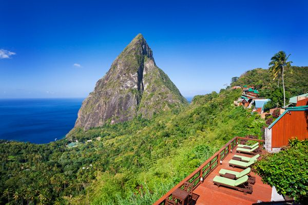 Ladera - St. Lucia, West Indies