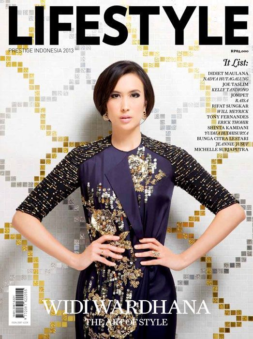 Widi Wardhana graces our annual Lifestyle 2013 Issue. Check out the Fashion Icon of the year glamorous photo shoot and story.