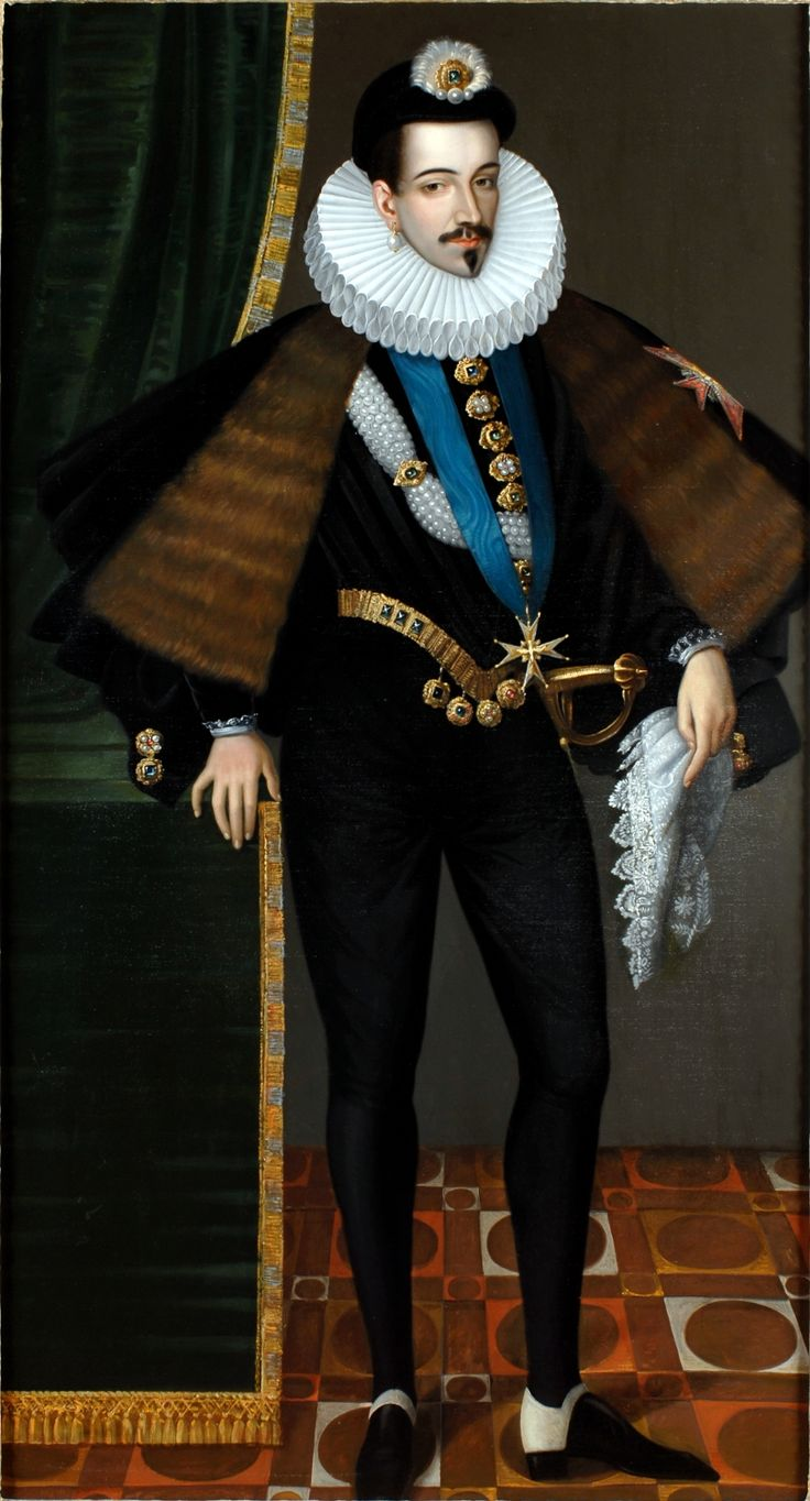 Henri III (1551–1589), the fourth son of Henri II and Catherine de Medici, was king of France from 1574 to 1589