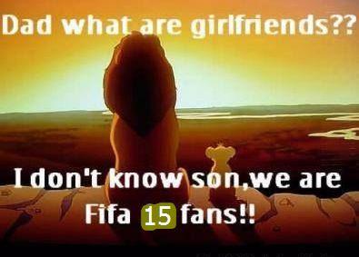 :D :D Fun time: Girlfriends or Fifa fans? <3 <3