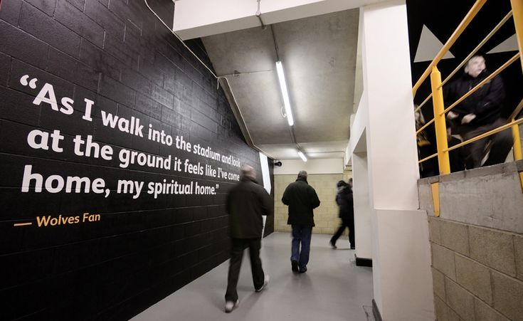 Wolves FC fans contribute to new look stadium – Creative Review