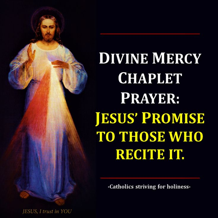 DIVINE MERCY SUNDAY PREPARATION. JESUS' PROMISE TO THOSE WHO RECITE THE DIVINE MERCY CHAPLET PRAYER Summary vid + full text. As we approach the Divine Mercy Sunday, the 2nd Sunday after Easter, let…