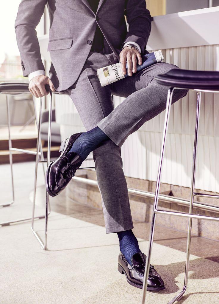 promo code 55101 11107 Schicke Herren Business Slipper von Falke | Dress shoes in ...