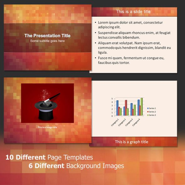About The Pixels- Professional PowerPoint Template