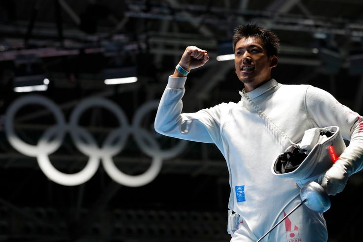 【DAY5】フェンシング男子エペの見延和靖選手は6位入賞。同種目での日本勢の入賞はこれが初めてとなります。#がんばれニッポン #フェンシング #Rio2016
