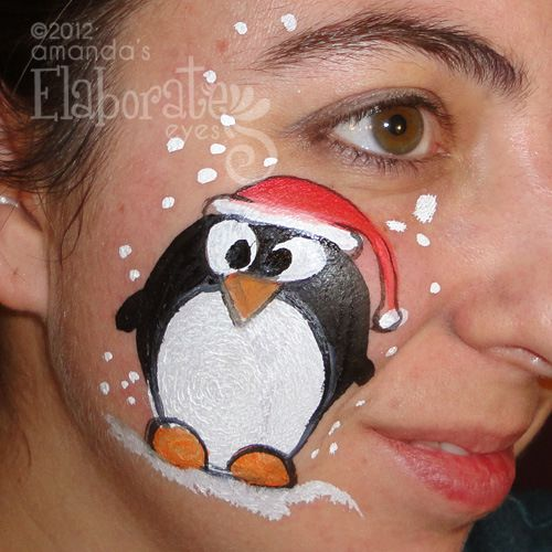 Posts About Holiday Face Painting Designs On Amanda S Elaborate Eyes Body
