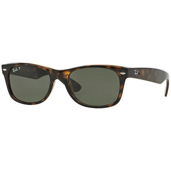 f83dca810ac02 Ray-Ban Men s New Wayfarer Blue Sunglasses