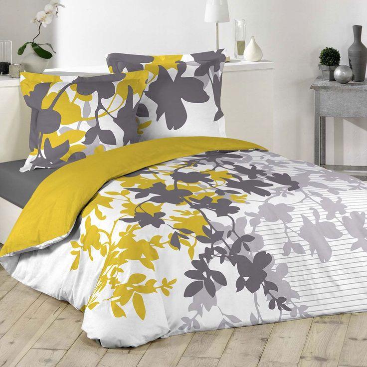 les 25 meilleures id es de la cat gorie couette jaune sur pinterest chambres jaunes murs. Black Bedroom Furniture Sets. Home Design Ideas