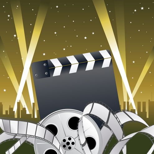 hollywood clip art pic only | Hollywood Theme | Pinterest ...