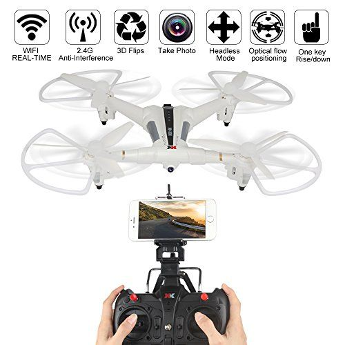 Dazhong XK X300-W drone Quadcopter, 2.4G 5CH 6-Axis Gyro Brushed RC Drone With 720P Wide Angle Camera Wifi FPV RC Quadcopter Optical Flow Positioning - http://quadcopter-drones.co.uk/product/dazhong-xk-x300-w-drone-quadcopter-2-4g-5ch-6-axis-gyro-brushed-rc-drone-with-720p-wide-angle-camera-wifi-fpv-rc-quadcopter-optical-flow-positioning/